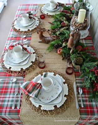 Sat Dec 19 2020 1pm, Evergreen 'n Berries Table Runner, 201219131